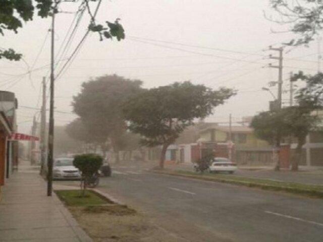 Senamhi advierte la presencia de vientos fuertes en zonas costeras del país