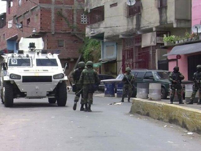 Venezuela: operativos contra el crimen dejan 17 muertos en Caracas