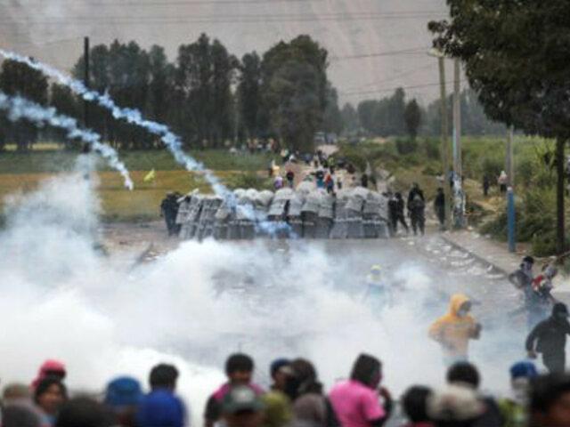 Pasco: enfrentamientos entre cocaleros y policías dejan un muerto en Oxapampa