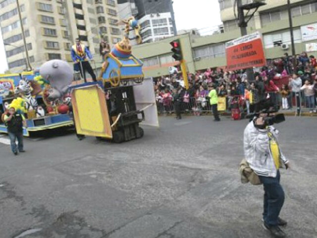 Miraflores: conoce el plan de desvíos por el corso de Fiestas Patrias