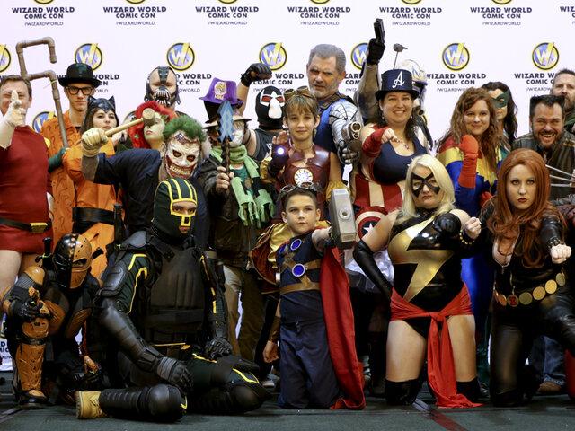 Héroes y villanos asistieron al festival Comic-Con en Hong Kong