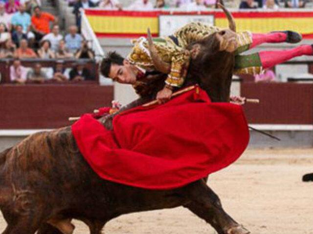 Cajamarca: banderillero salvó de morir tras ser alcanzado por toro