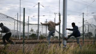 La crisis migratoria continúa en el túnel de La Mancha