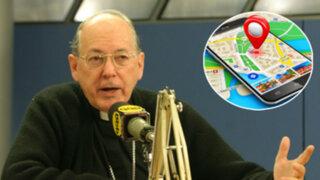 """Geolocalización: Cipriani critica ley y afirma que podría derivar en """"represión"""""""