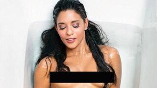 FOTOS : Rocío Miranda posó desnuda para una conocida revista internacional