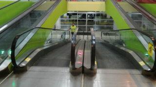 Las deficiencias encontradas tras inspección a escaleras eléctricas en Lima