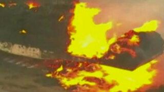 EEUU: cientos de evacuados por incendio forestal en Washington
