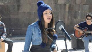 Peruana sorprende al cantar en quechua canción de Michael Jackson