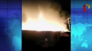 La Victoria: incendio en antiguo solar deja 50 personas y tres parejas de animales afectadas
