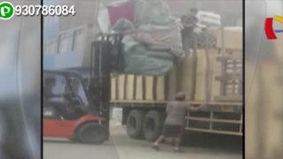 La Victoria: camiones de carga toman el jirón Cangallo como depósito