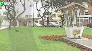 WhatsApp: tras denuncia de vecinos municipio de Surco arregla parque