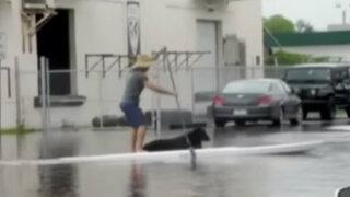 Estados Unidos: alerta por inundaciones en Florida