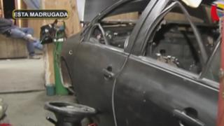 Carabayllo: Policía intervino sujetos que desmantelaban modernos autos robados