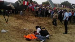 Pilotos del helicóptero que decapitó a joven  se encuentran detenidos