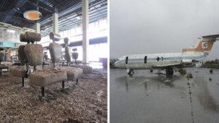 FOTOS : así lucen los aeropuertos abandonados más famosos del mundo