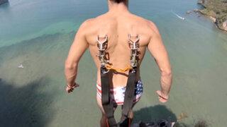 YouTube : este es el salto en paracaídas más extremo que podrás ver