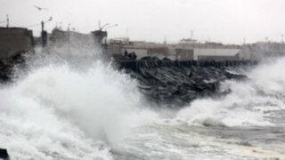 Callao: oleaje anómalo se registró en La Punta