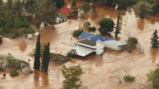 Argentina: continúan trabajos de evacuación por desborde de ríos en Buenos Aires