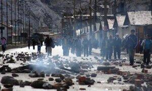La Oroya: protestas dejan un muerto y cierre de carretera