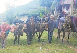 Cajamarca: ronderos castigan a joven por golpear a su padre