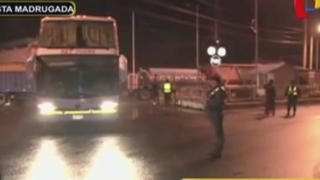 Manifestantes levantan paro y desbloquean Carretera Central en La Oroya