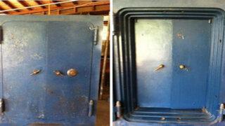 FOTOS : heredó una caja fuerte de su abuela y lo que encontró dentro fue impresionante