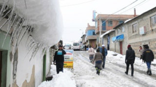 Bolivia: suspenden clases por fuerte nevada y friaje en ciudades