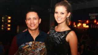 Brunella Horna y Renzo Costa disfrutan su viaje en Las Vegas