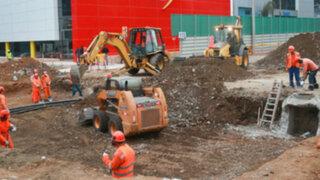 San Isidro: cierran tramo av. Rivera Navarrete por obras de estacionamiento subterráneo