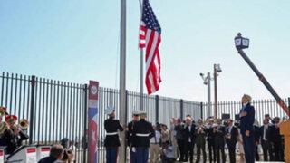 Estados Unidos reabrió su embajada en Cuba