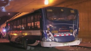 Surco: choque entre buses deja más de 20 heridos