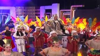 Porque Hoy es Sábado: Fabiola de la Cuba  regala un espectáculo del Perú para el mundo