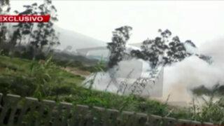 El Agustino: explosión mata a policía y deja graves a otros dos en desalojo