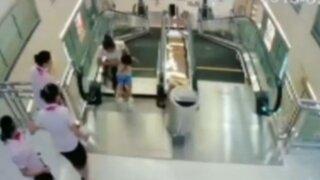 Cuidado: así se encuentran las escaleras eléctricas en nuestro país