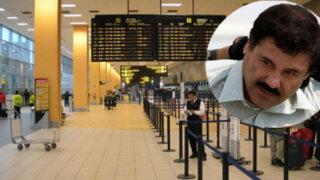 Vinculan a 'El Chapo' Guzmán con droga sembrada en el aeropuerto Jorge Chávez