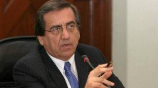 Jorge del Castillo cuestiona anulación de investigación a Nadine Heredia
