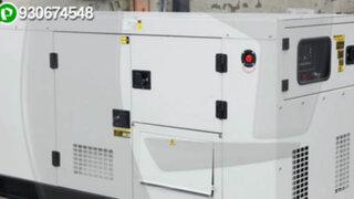 WhatsApp: instalan generador eléctrico en plena vía pública