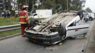 Detectan 245 zonas críticas de accidentes de tránsito en Lima