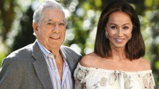 Mario Vargas Llosa feliz por su relación con Isabel Preysler
