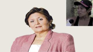 """Carmen Gonzáles: """"Se debe evaluar si mujer que perdonó a agresor puede manejar a sus hijos"""""""