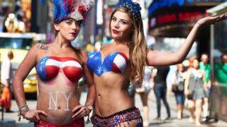 """EEUU: quieren retirar a mujeres que hacen """"topless"""" en las calles"""