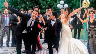Abogado de Nadine Heredia estuvo en boda del clan Sánchez Paredes en Roma