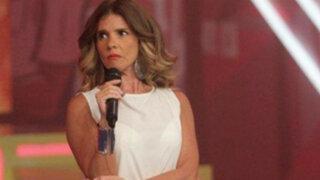 Johanna San Miguel pidió disculpas púbicas a Jorge Bustamante