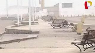 Boulevard de playas Venecia y Barlovento luce abandonado y destruido