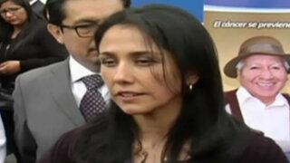 Nadine Heredia insiste en que hay intención de dañar su imagen