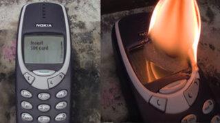 YouTube: intentaron destruir un Nokia 3310 y lo que pasó seguramente lo imaginas