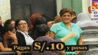 Un verdadero calvario: Los días de visita a Lurigancho y Sarita Colonia