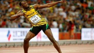 Usain Bolt retuvo título de los 100 metros planos en el Mundial de Atletismo