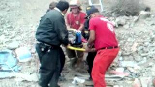 Turista paraguaya cae de parapente y solo queda herida