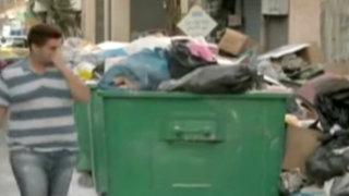 Líbano: basura acumulada en las calles genera crisis política